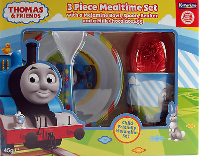 Thomas The Tank Engine Chocolate Easter Egg Gift Set - Bowl Cup Spoon