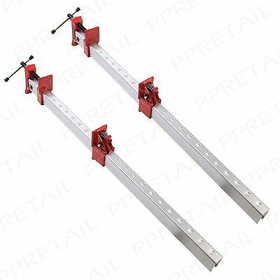 "2 x Quick Release Sash Clamps EXTRA LONG 36""/900mm Wood Bench T Bar Cramp Frame"