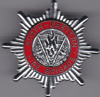 fire brigade badge scotland north eastern area 2 lugs