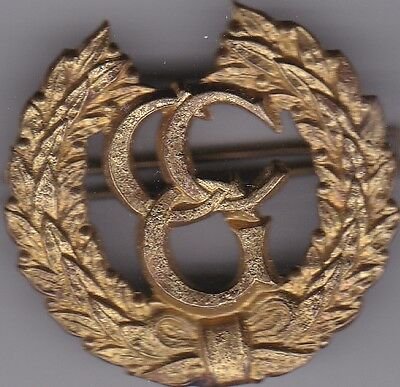 control commission germany cap badge