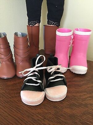 American Girl shoes and boots