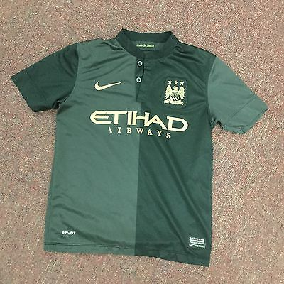 Manchester City Shirt Boys 8-10 Years