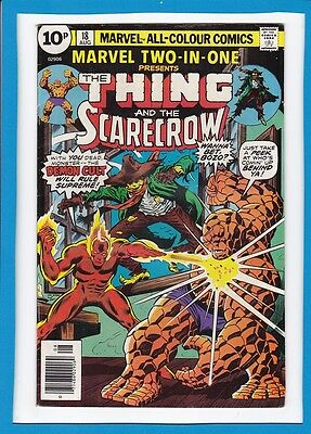 Marvel Two-In-One #18_August 1976_Fine+_The Thing & The Scarecrow_Bronze Age Uk!