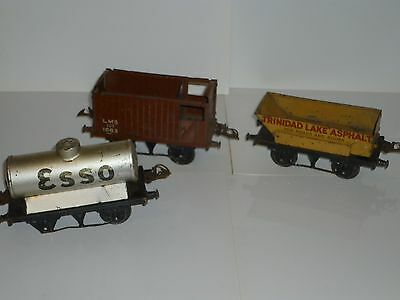Vintage Hornby O Guage Rolling Stock