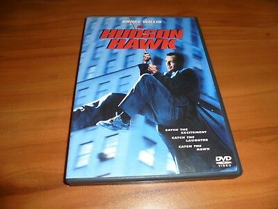 Hudson Hawk (DVD, Widescreen/Full Frame 1999) Bruce Willis Used