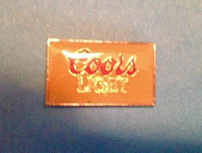Vintage Coors Banquet Beer Breweriana Jacket Hat Lapel Pin 005
