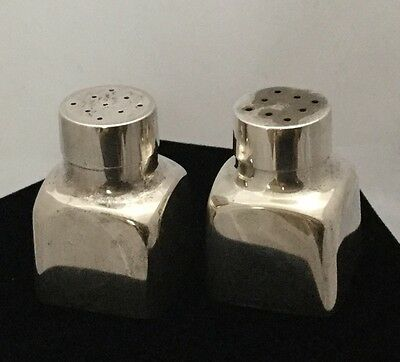 Vintage Tiffany & Co. 925 Sterling Silver #227 Salt and Pepper Shakers 53 Grams