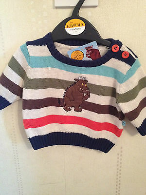 The Gruffalo monster jumper Top Baby boy size upto 1 month 9LB NEW  Mouse