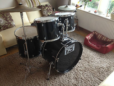 Session Pro 5 drum kit complete with cymbals & stands