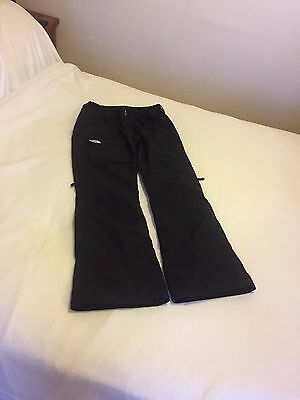 Womens North Face Hyvent Black Ski / Board Pants size Large