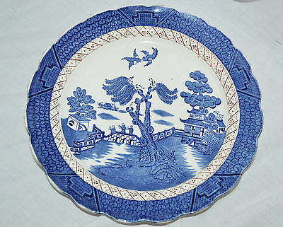 Vintage Booths Real Old Willow Plate Form A8025
