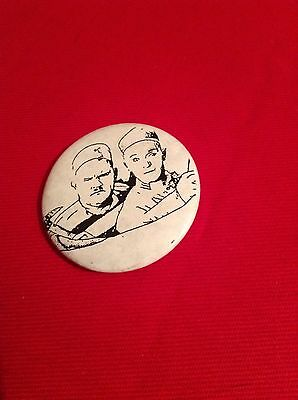Laurel and  Hardy Jailbirds 1st  100 Years FanClub  Ltd Edition Enamel Pin Badge