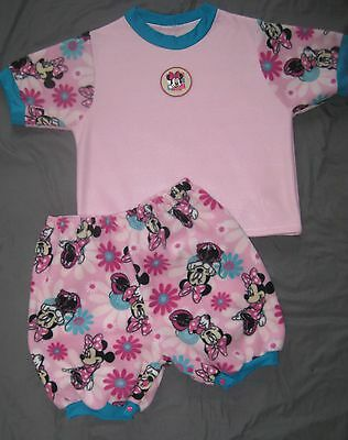"""Adult Baby 41"""" FLEECE TOP w/ 50"""" SNAP SHORTS, by LL"""