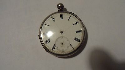 silver pocket watch not working
