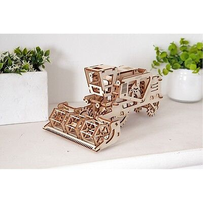 Combine model Ugears Self-Propelled Wooden Kit 3D Puzzle Toy (154 components!)