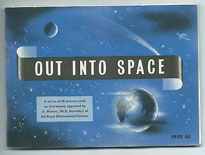 Brooke Bond Out into Space - Album and set of 50 Cards.