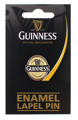 Guinness Lapel Badge Label