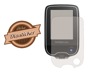 Diasticker® - Freestyle Libre Displayschutzfolie / Screenprotector