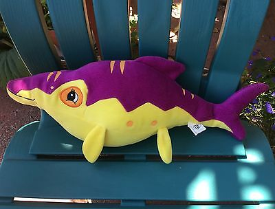 "Ultrarare! Big! 17"" Euro Spain Land Before Time Mo Opthalmosaurus Dinosaur Plush"