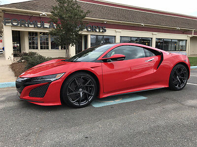 2017 Acura NSX  ACURA NSX. CURVA RED. SADDLE LEATHER. CARFAX 1-OWNER. $0 DOWN / $3167 MONTH