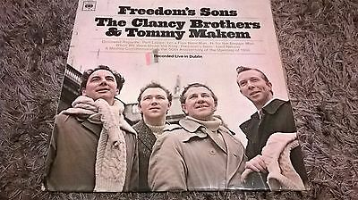 Freedom's Sons - The Clancy Brothers and Tommy Makem vinyl LP