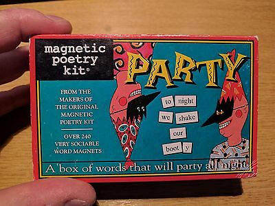 "magnetic poetry kit - ""Party"""