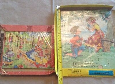 Vintage Childs Jigsaw Puzzles Victory