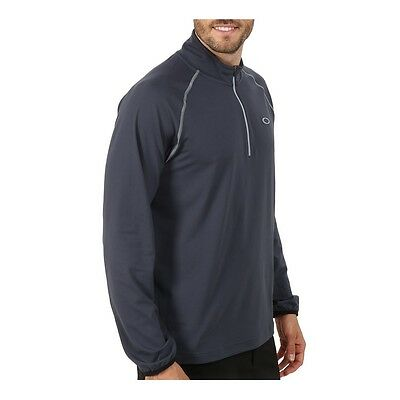 OAKLEY Tee-shirt ML 1/4 zippé homme THEO graphite taille M (taille grand)