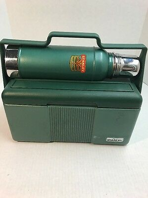 Vintage STANLEY THERMO Stainless Steel And Insulated Lunch Cooler Set