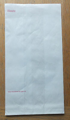Swiss International Airlines: Sick Bag new, unused