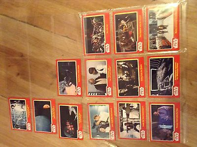 topps trading cards Star Wars 13 a new hope