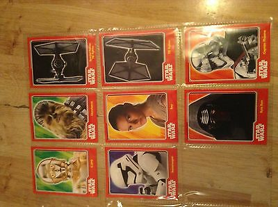 topps trading cards Star Wars 8 the force awakens