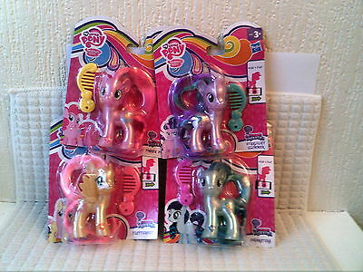 My Little Pony Bundle 4 Ponies New Official Starlight Glimmer Etc
