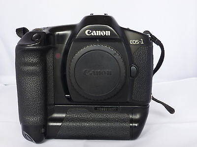 Canon EOS 1 Film Camera Body and Drive Booster E1