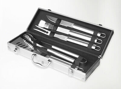 Bbq Tool Set New Grande 5 Piece Stainless Steel Barbecue Accessories And Tools