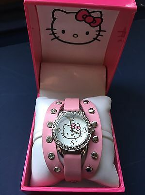Hello Kitty by Sanrio Watch Pink New
