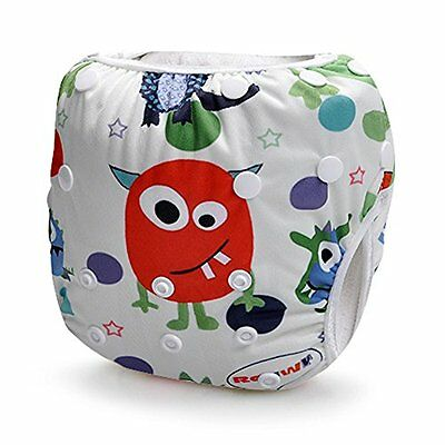 Storeofbaby Baby Swim Diaper for Baby Leakproof Reusable Adjustable Infant 0 ...