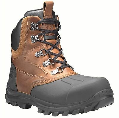 7927bb9dc06 A185T TIMBERLAND MEN'S Chillberg Mid Shell-Toe Waterproof Boots All Sizes