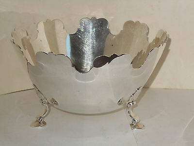 Antique Sterling Silver Tiffany & Co. New York Monteith Bowl  6.25Inch