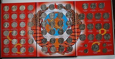 """1965-1991 Russia """"Jubilee and Сommemorative Сoins of the USSR"""" 1,3 and 5 rubles"""