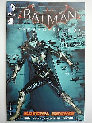 Sdcc Exclusive Batman Arkham Knight Batgirl Begins Comic Book #1 One Shot
