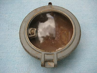 Vintage Rowco LX.8 Ship Shed Man cave? Bulkhead Ceiling Light Nautical Maritime