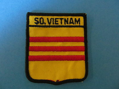 SOUTH VIETNAM Shield Patch Hat Jacket Biker Vest Backpack Travel Country Crest A