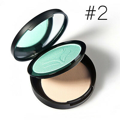4 Colors Cosmetic Makeup Powder Palette Beauty Highlight Face Foundation #02