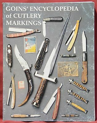 GOINS ENCYCLOPEDIA OF CUTLERY MARKINGS----J. E. Goins and Charlotte Goins