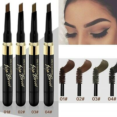 4 Colors Drawing Eye Brow Waterproof Eyebrow Long Lasting Pen Pencil Makeup Tool