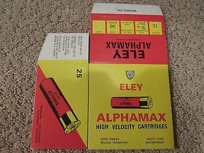 Eley Alphamax 12 Ga High Velocity Cartridges Eley Hawk Limited
