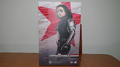 Hot Toys CAPTAIN AMERICA WINTER SOLDIER MMS241 1/6 Empty Box