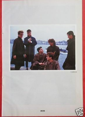 INXS Michael Hutchence KEVIN DUBROW QUIET RIOT 1984 CLIPPING JAPAN OS 2A