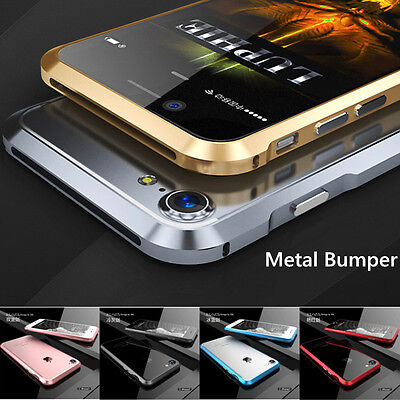Luxury Aluminum Metal Bumper Case Frame Cover For iPhone6 6S 7 Plus 5S